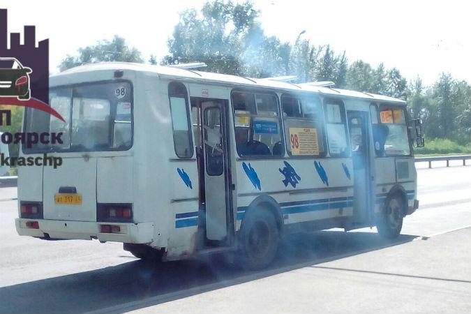 В Красноярске водитель